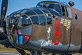 Nose of a B-25 named Grumpy (7674510222).jpg