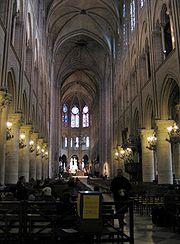 O espaço arquitetônico gótico