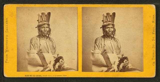 File:Now we ke shick (Noon Day), a Chippewa chief, by ...