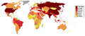Number of active troops world map, 2009.png