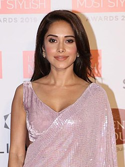 Nushrat Bharucha at Lokmat Most Stylish Awards 2019 (14) (cropped).jpg