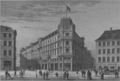 Ny Adelgade - Hovedvagtsgade corner 1874.png