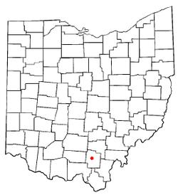 Jackson Ohio Wikipedia - Ohio location on us map