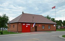 Fire station in Jaminy