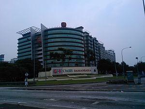 Malindo Air - Oasis Ara Damansara, which houses the Malindo Air head office