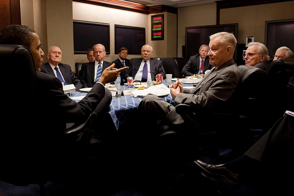 Obama with former National Security Advisers 2010