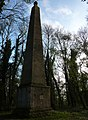 Obelisk on Weatherby Castle Hill - Hidden Landmark - panoramio.jpg