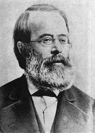 Otto von Böhtlingk - Portrait von Otto Böhtlingk