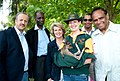 Officials with South Africa with a joey from Caversham Wildlife Park.jpg
