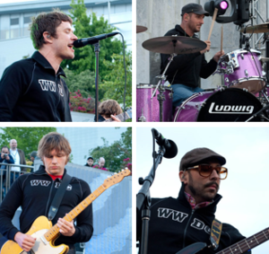 OK Go discography - Clockwise, from top left: Damian Kulash, Dan Konopka, Tim Nordwind, Andy Ross