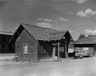 Old Faithful Historic District - Image: Old Faithful HD laundry manager's residence