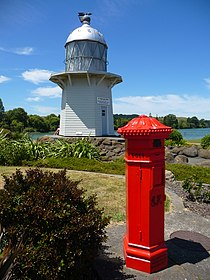 Old lighthouse and letterbox Wairoa.jpg
