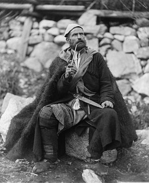 Georgians -  Georgian peasant in Mestia, c. 1888