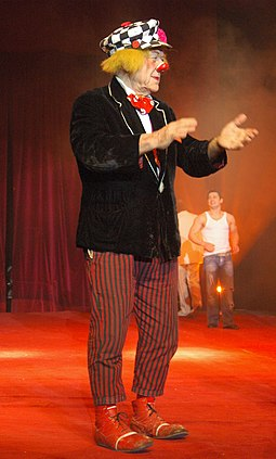 Popov the Clown in 2009 Oleg popov2.jpg