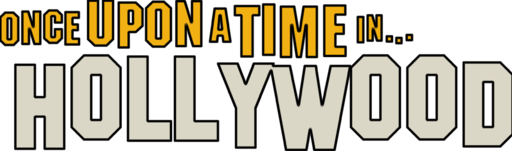 Once Upon A Time in Hollywood Logo contour