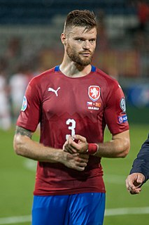 Ondřej Čelůstka Czech soccer player and soccer representant