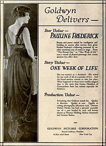 One Week of Life (1919) - Ad 1.jpg