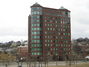 Citizens Financial Group - Citizens Bank headquarters in downtown Providence, constructed 1991.