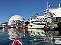 Ontario Place in September 2018, view from a kayak.jpg