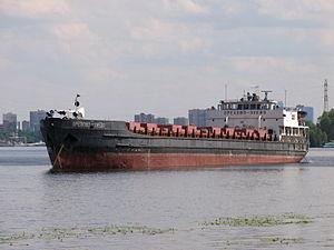 Orekhovo-Zuyevo on Khimki Reservoir 25-jun-2012.JPG