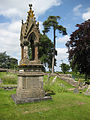 Ornate memorial, St Swithins - geograph.org.uk - 869098.jpg