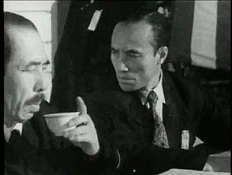 Osamu Takizawa - Takizawa in the 1950 film Bōryoku no Machi
