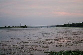 Oskol River - Oskil near Kruhliakivka