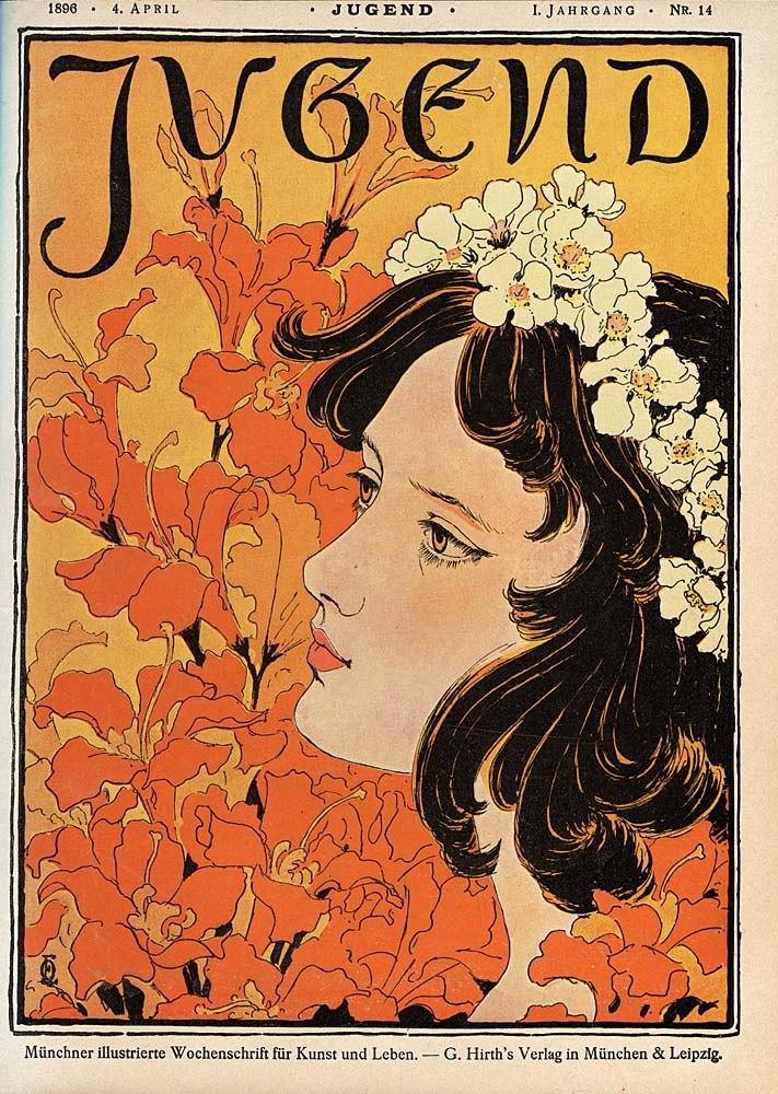 Otto Eckmann - Jugend Nr. 14, 1896