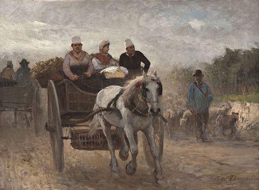 Otto von Thoren Auf dem Weg zum Markt