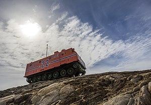 Kharkovchanka - Kharkovchanka close to the Zhongshan Station in Antarctica (2014)