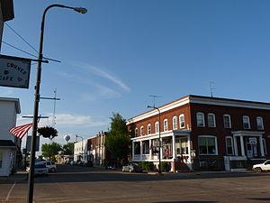 Claude and Starck - Woodland Hotel, Owen, Wisconsin
