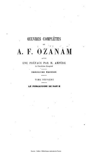 File:Ozanam - Œuvres complètes, 3e éd, tome 9.djvu