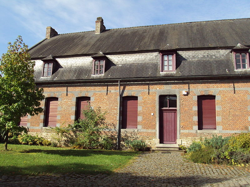 Presbytère de la paroisse Saint-Quentin (façades et toitures)