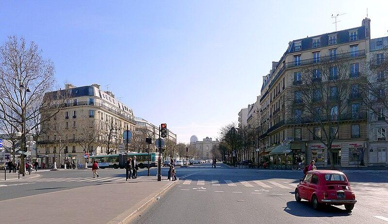Fichier:P1010442 Paris V,VI,XIV Avenue de l'Observatoire reductwk.JPG