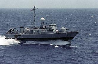 Pegasus-class hydrofoil - USS Pegasus