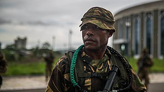 Papua New Guinea Defence Force - A PNGDF soldier in 2017