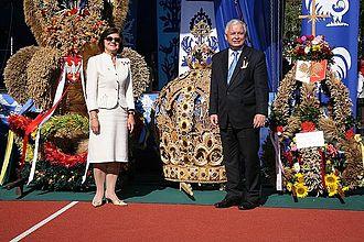 Harvest festival - Presidential Harvest Festival in Spała, Poland
