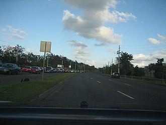 Puerto Rico Highway 177 - PR-177 near Torrimar, Guaynabo