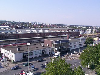 Hamm–Warburg railway - Paderborn Hauptbahnhof