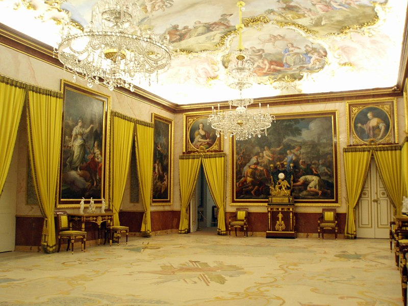 File palacio real de aranjuez interior for Ministro de interior actual