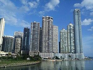 Economy of Panama - Image: Panama City seafront