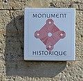 Panneau Monument Historique de la Porte Saint-Pierre (Pontarlier) en 2014.jpg