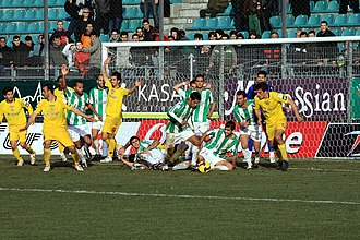Ergotelis F.C. - Ergotelis vs. Panthrakikos during the 2009–10 season.