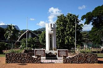 Pouvanaa a Oopa - The Pouvanaa a Oopa Monument