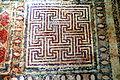Paphos Haus des Dionysos - Geometrisches Mosaik 2 Labyrinth.jpg