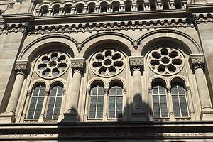 Grand Synagogue of Paris - Image: Paris Synagogue de la Victoire 681