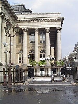 Bourse (Paris Métro) - Station entrance