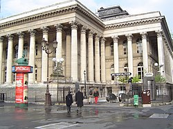 The former Paris Bourse