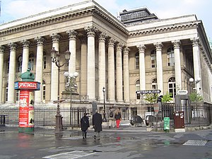 2nd arrondissement of Paris - The former Paris Bourse, located in the 2nd arrondissement.
