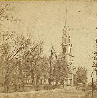 Park Street Church - Park St. Church, 19th century